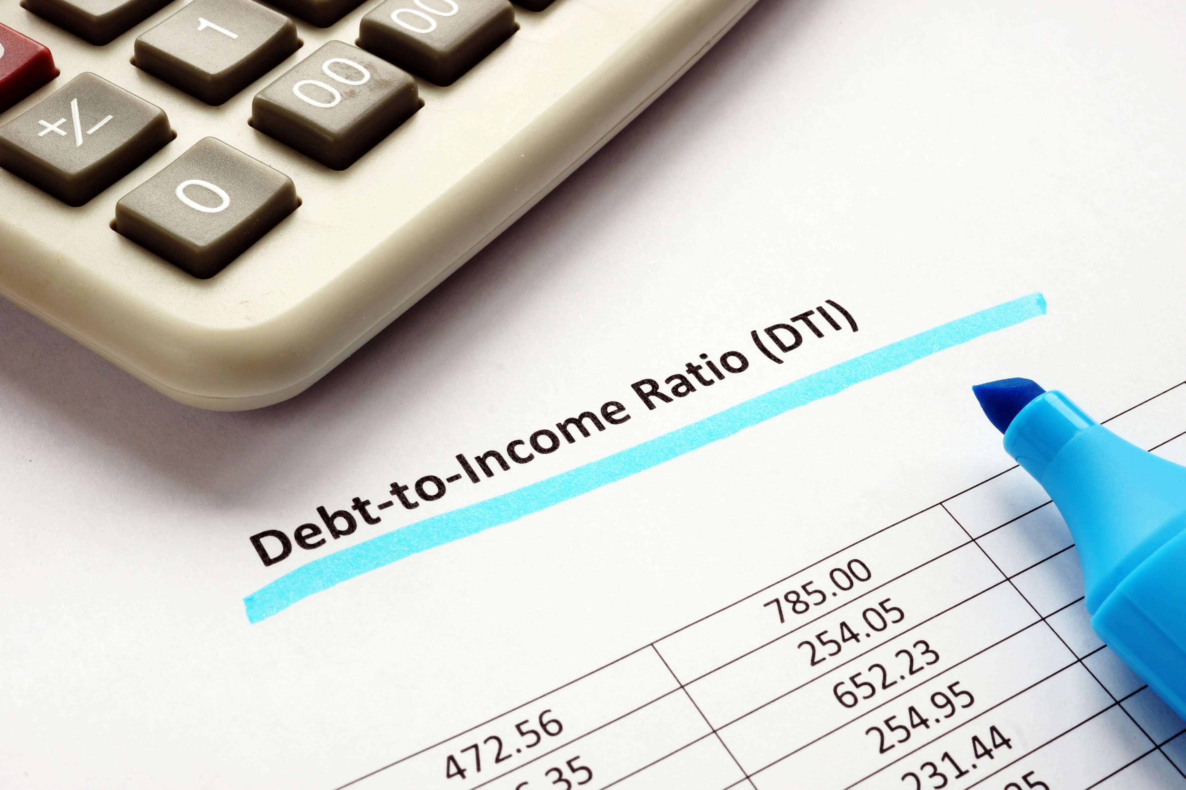 The Details Behind Debt to Income Ratio for Mortgages